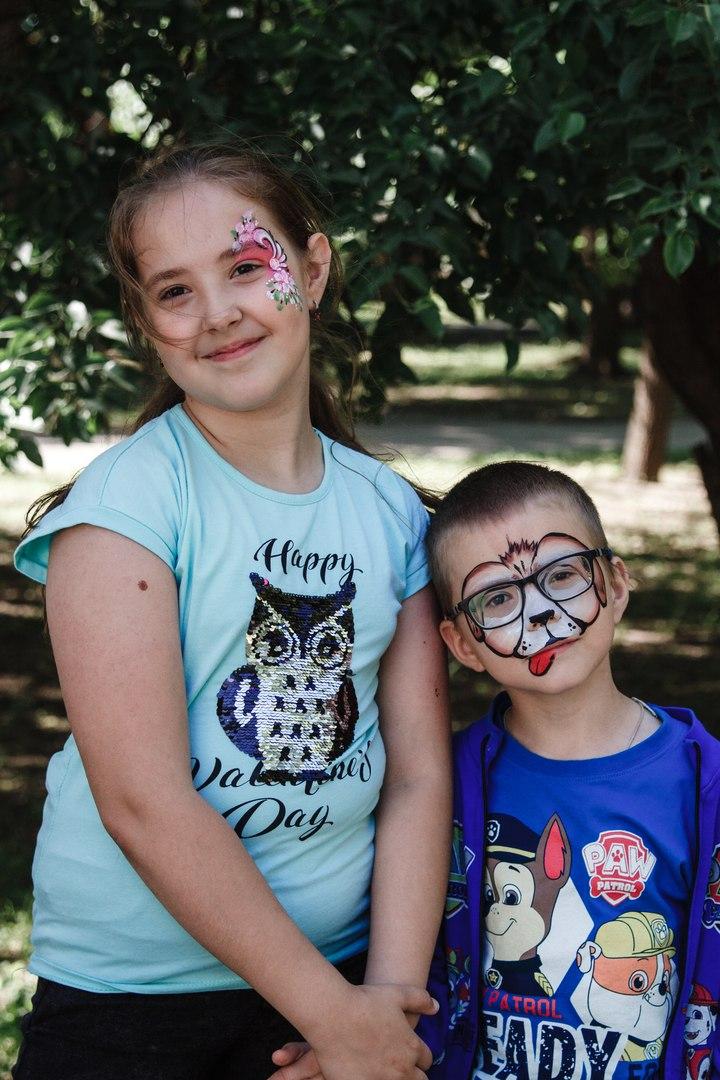 Аквагрим дети